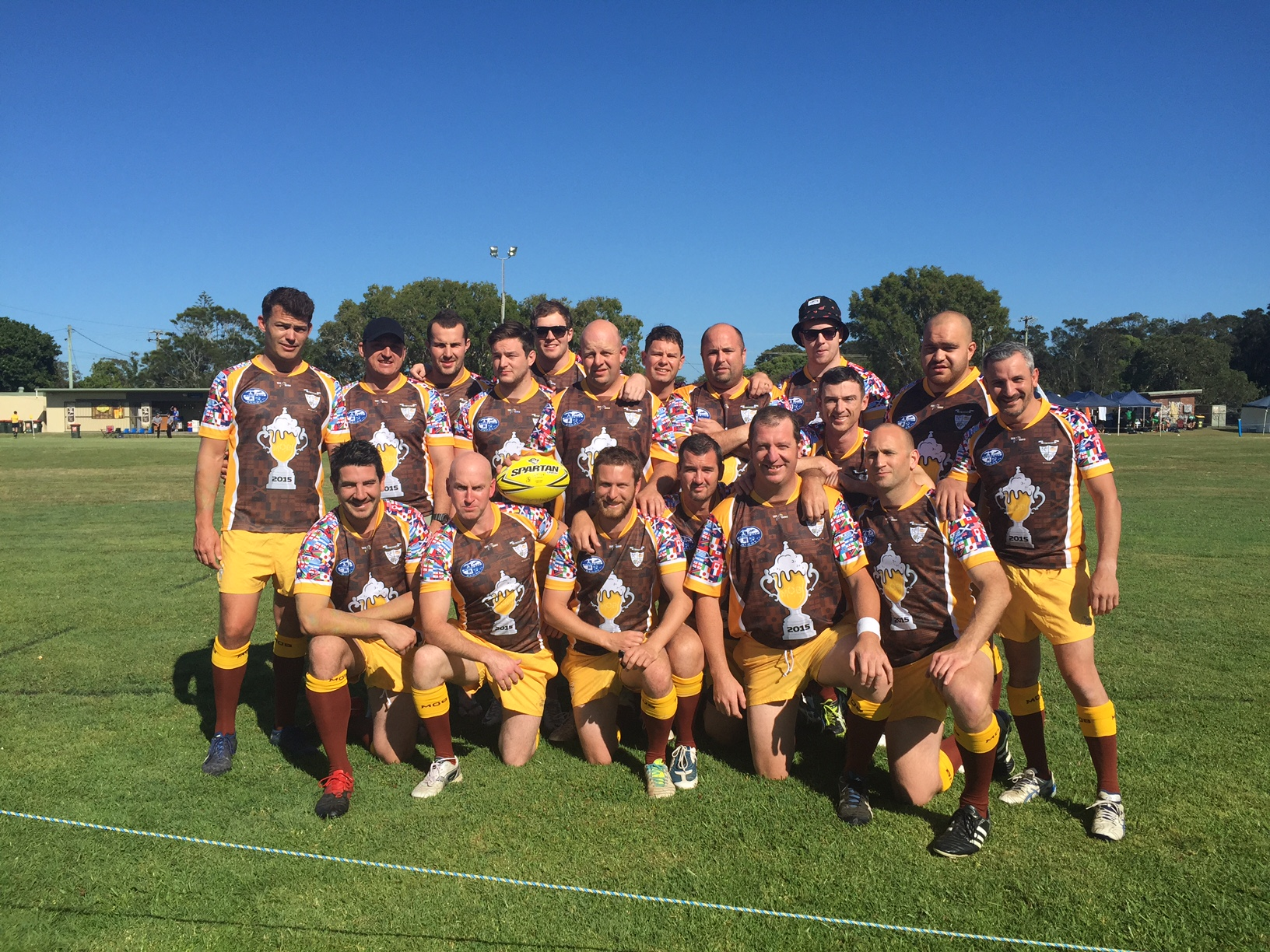 MOB Macarthur Old Boys Rugby 2016 Byron Bay Sevens Jersey 4