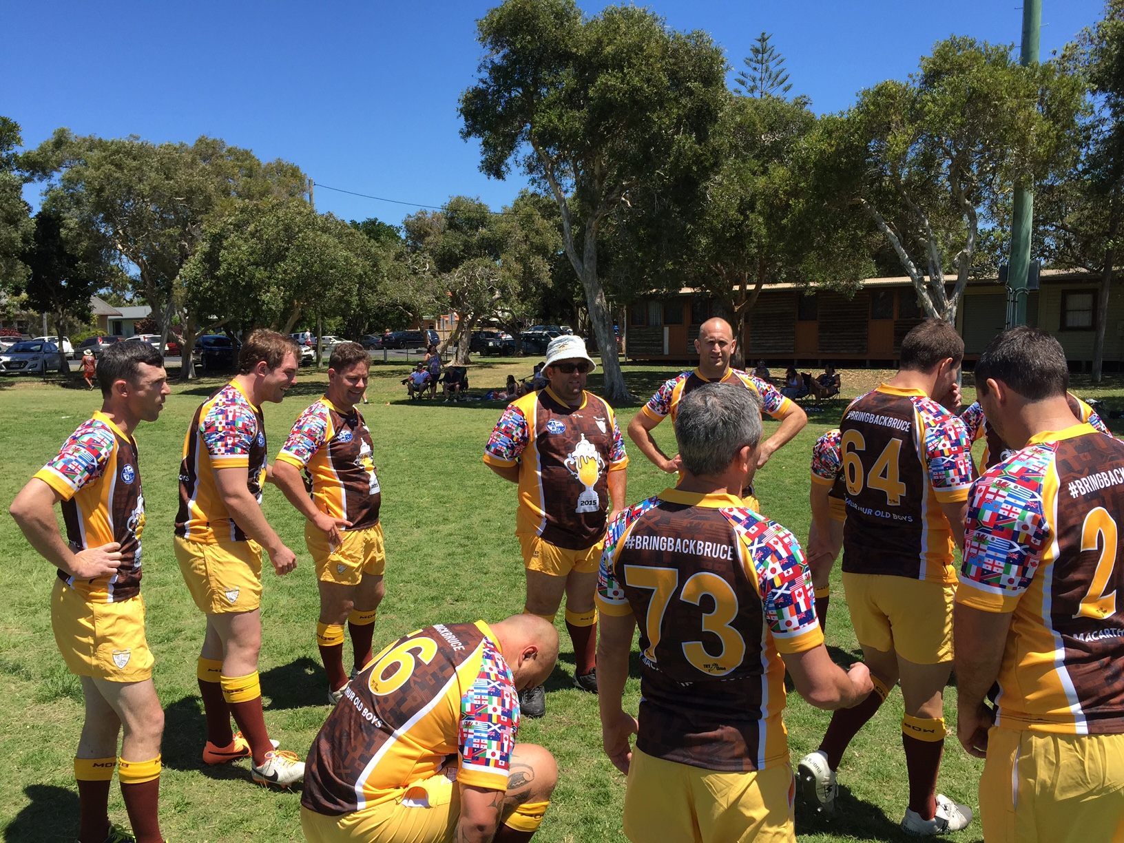 MOB Macarthur Old Boys Rugby 2016 Byron Bay Sevens Jersey 6