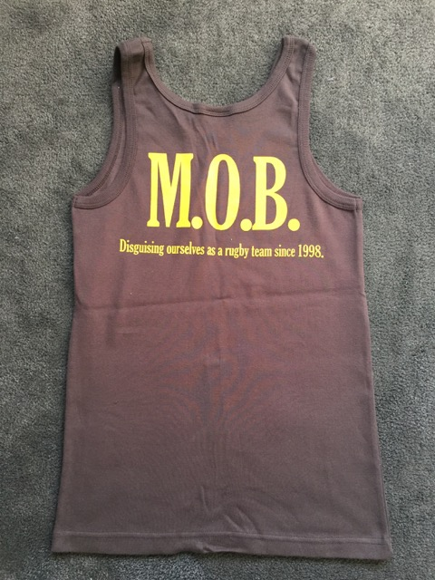 MOB Playing Kit 2013 Singlet Back